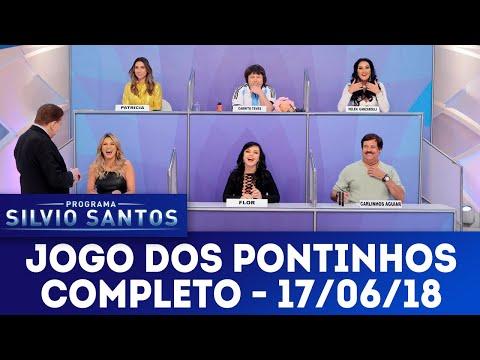 Jogo dos Pontinhos - Completo | Programa Silvio Santos (17/06/18)