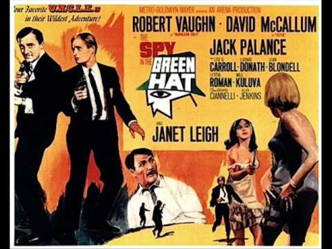 Man from UNCLE Spy in the Green Hat  Goldsmith arr Nelson Riddle