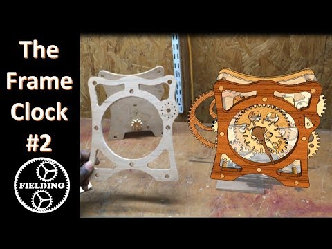 How To Make A Wooden Clock Part Two; The Face And More Gears: 046