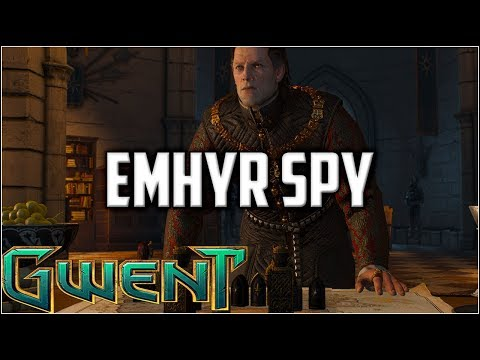 Gwent Emhyr Spy ~ Obvious Mistakes ~ Gwent Ranked Gameplay The Witcher Card Game