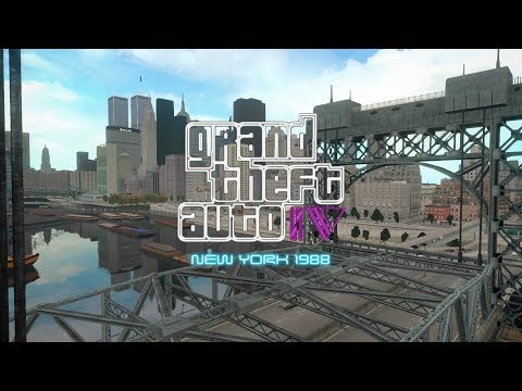 GTA IV: New York 1988 - Manhattan