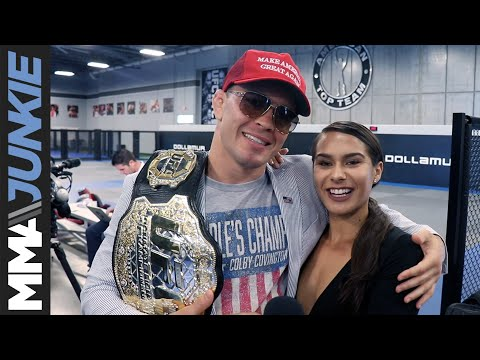 American Top Team media day - Colby Covington full MMA Junkie interview