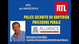 POLICE SÉCURITÉ DU QUOTIDIEN  PROCÉDURE PÉNALE