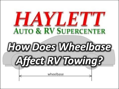 HaylettRV - How does Wheel Base affect Towing? with Josh the RV Nerd