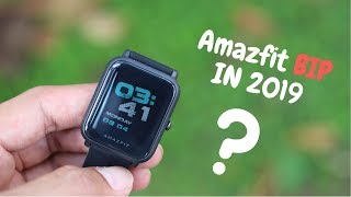 Why I bought Amazfit BIP in 2019 | 6 PROS & 2 CONS
