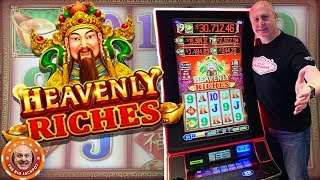 💸$2,000 IN How Much Will I Win?! 💸High Limit Heavenly Riches Slots! 🎰