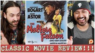 THE MALTESE FALCON - (Classic Film) REVIEW!!!