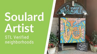Soulard artist brings smiles to the neighborhood