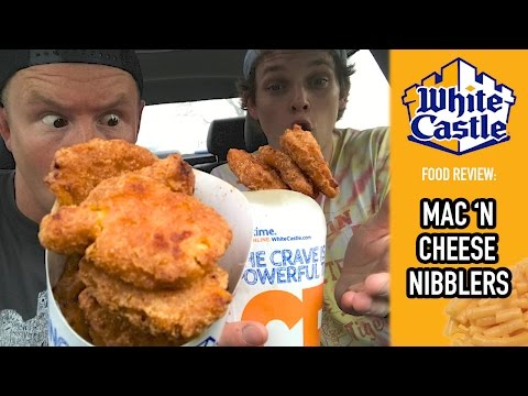 White Castle's Mac 'N Cheese Nibblers Food Review | Season 4, Episode 5 (Part 4)