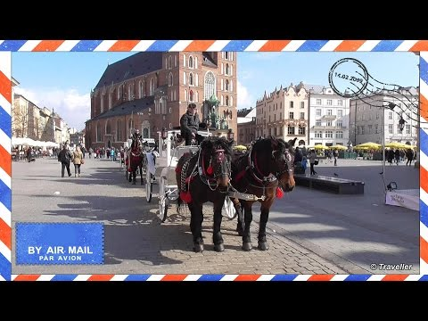 Krakow Attractions - Horse carriage ride from main market square past Wawel Castle