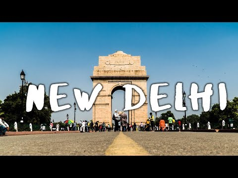 A Trip to New Delhi - Cinematic Vlog