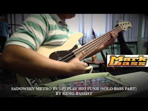 Sadowsky Metro RV5-PJ Olympic White Play Rio Funk (Solo Bass Part) by Keng-Bassist