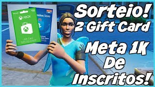 Fortnite Giveaway! 2 Gift Cards worth $50! Target 1K of Subscribers part #02