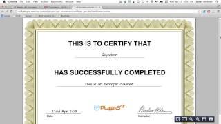 كيفية إنشاء ملف PDF شهادة بإكمال دراستك
