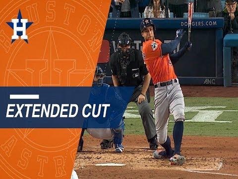 Extended Cut of Springer's historic home run