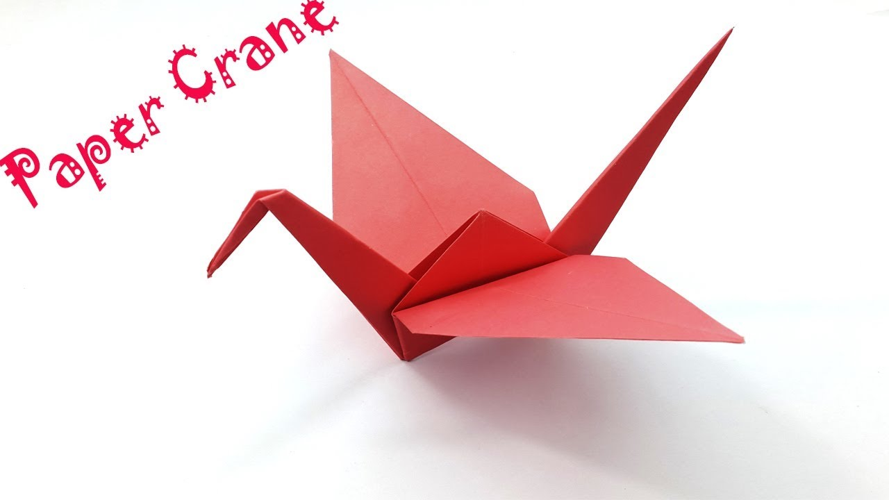 Origami Crane - How to Fold a Traditional Paper Crane | 720x1280