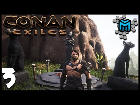 GROWING CROPS AND NEW RELIGION EP03 | Conan Exiles Multiplayer Gameplay | Conan Devolved Season 3