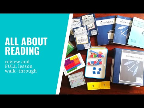 All About Reading Review - Level 1 walk-through