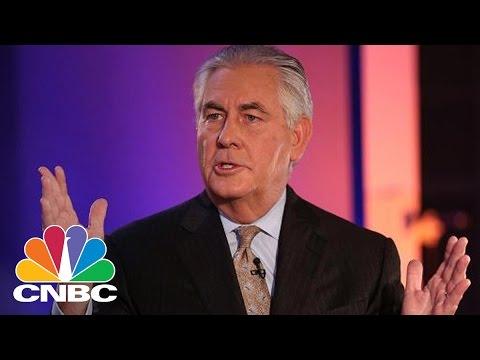 Donald Trump Picks Exxon's Rex Tillerson For Secretary Of State | Squawk Box | CNBC