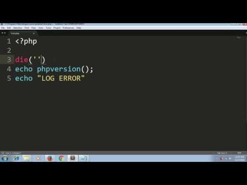 Best Way To  Debug Errors In PHP Script ( Error Debugging )