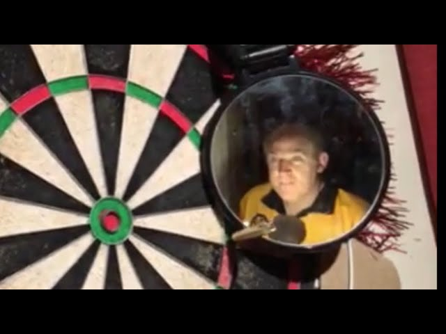 The 170 challenge. With amateur dart player Tim Vine.