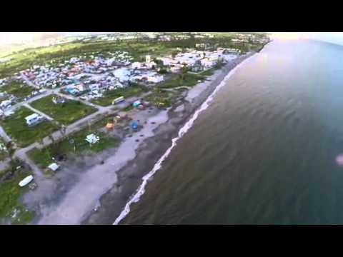 Aerial footage of Tacloban 6 months after Typhoon Haiyan