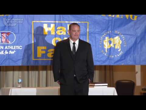 Casey Strand  2016 California Wrestling Hall of Fame Honoree