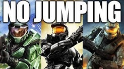 Can you beat the Halo Trilogy WITHOUT Jumping? (Halo CE, Halo 2, Halo 3)