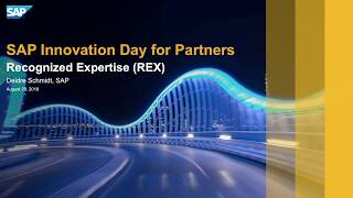 What is the Recognized Expertise program (REX)?