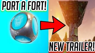 **NEW** PORT A FORT Coming Tomorrow!! Plus **NEW TRAILER**-Fortnite:Battle Royale!!