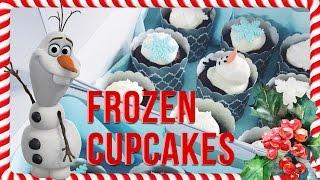 VÁNOCE s NotSoFunnyAny - Frozen Cupcakes