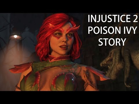 INJUSTICE 2 MULTIVERSE MODE Gameplay German - Poison Ivy Story