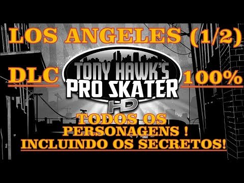 Tony Hawk Pro Skater REVERT PACK = LOS ANGELES STAGE = ! ALL CHARACTERS ! [ 1/2  ]