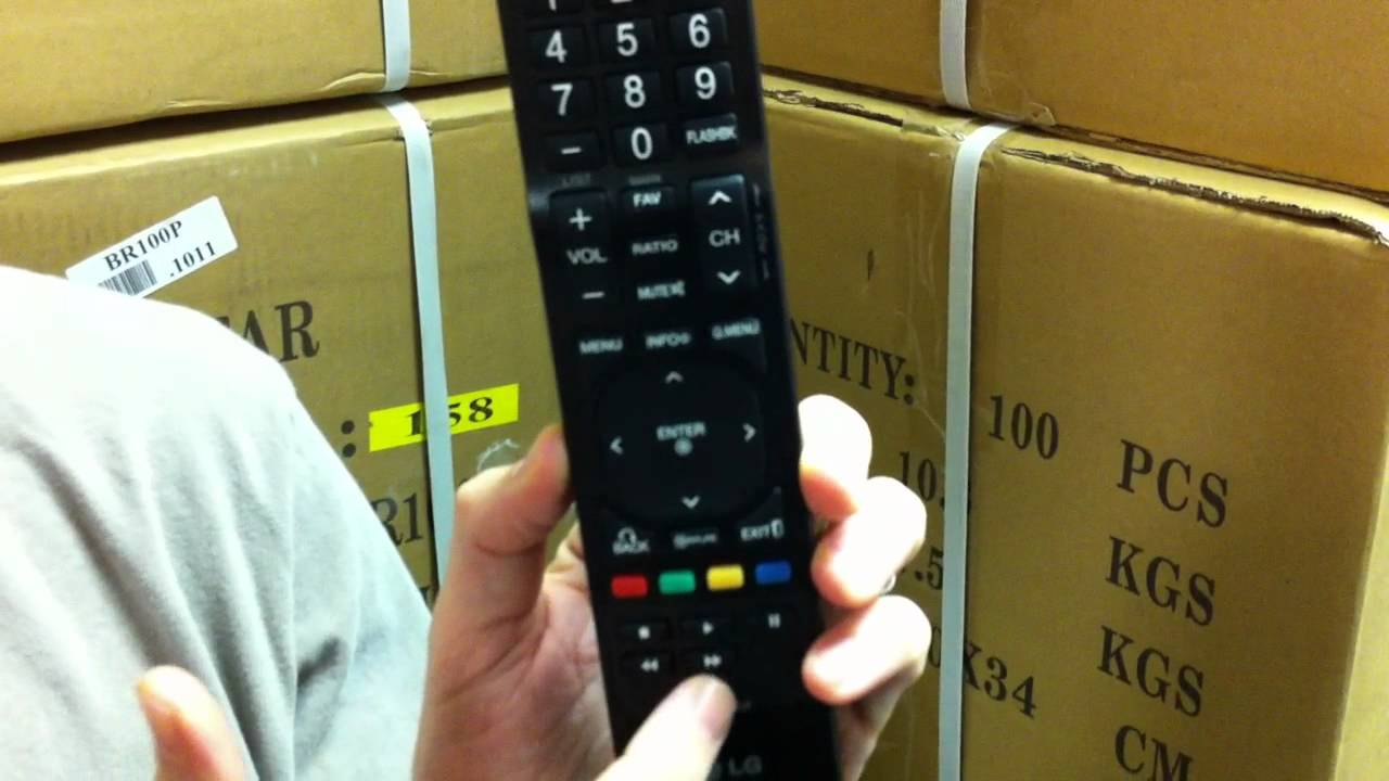 the original lg akb72915206 tv remote control youtubethe original lg akb72915206 tv remote control [ 1280 x 720 Pixel ]