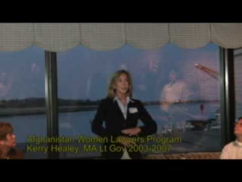 Kerry Healey, Afghanistan Women Lawyers Intro