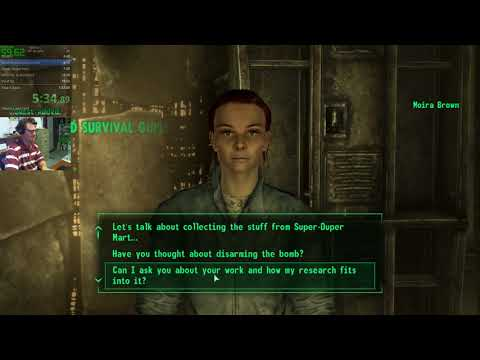 Fallout 3 All Quests In 1:30:46 IGT