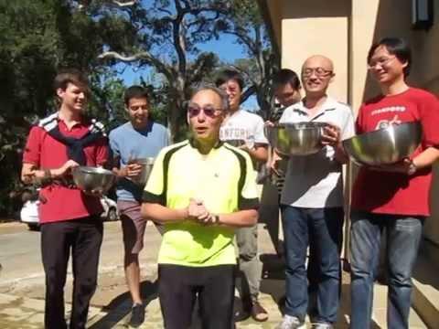 Steven Chu Accepts ALS Ice Bucket Challenge