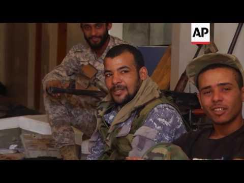 Libya army advances on militant stronghold