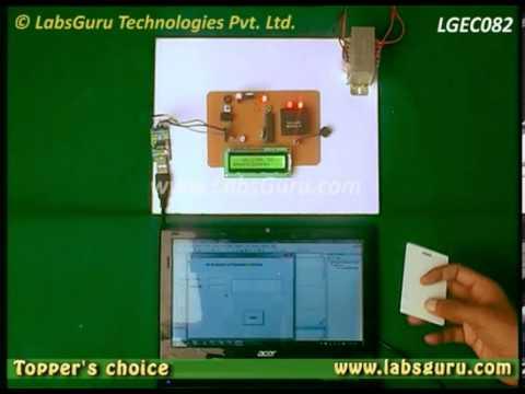RF ID Reader Based Wireless Digital Attendance System by KitsGuru com |  LGEC082