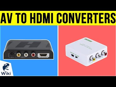 7 Best AV To HDMI Converters 2019
