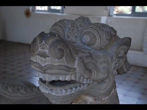 1,000 Year-Old Sculptures-Cham Museum (Museum of Cham Sculpture)-Danang, Vietnam