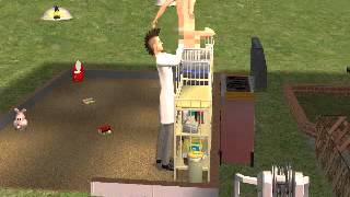 Sims Man-Toddler Glitch