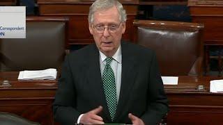 McConnell sets key procedural vote for Kavanaugh nomination