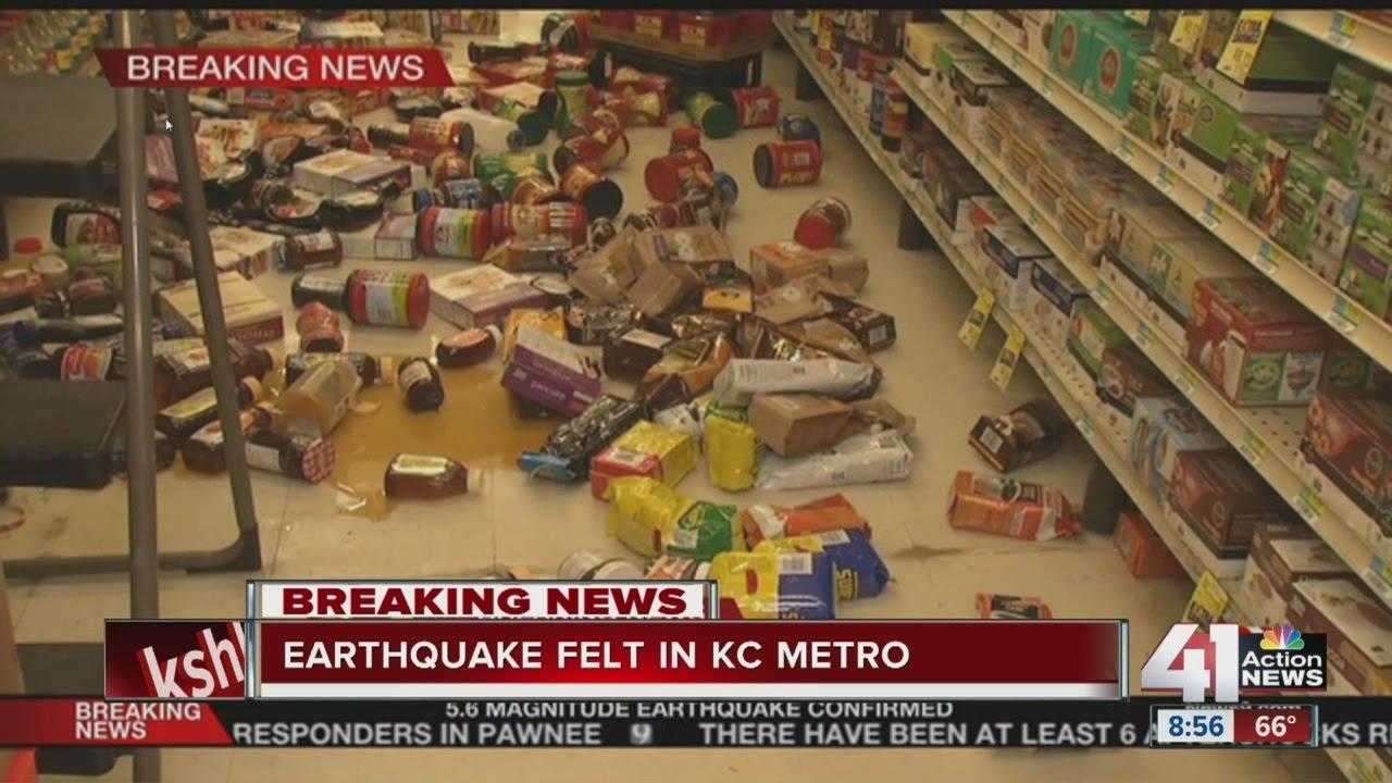 Earthquake felt in KC metro