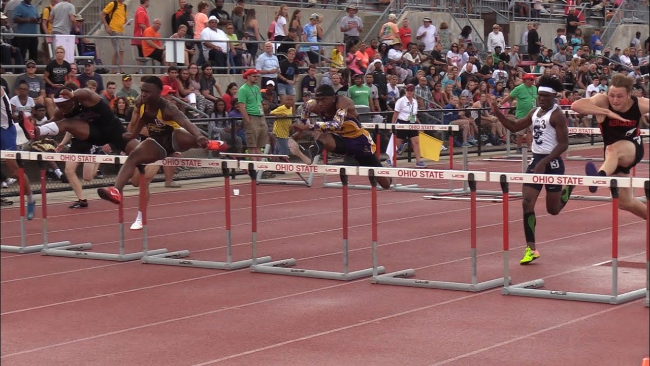 lakewoods tyler hannah finishing long journey in 110 hurdles final ohsaa division i state track