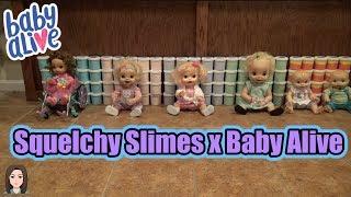 Video Baby Alives Sneak Into Squelchy Slimes Slime Room! Baby Alive x Squelchy Slimes Collaboration! download MP3, 3GP, MP4, WEBM, AVI, FLV Januari 2018