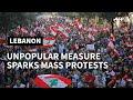 Lebanon: protest against dire economic conditions   AFP