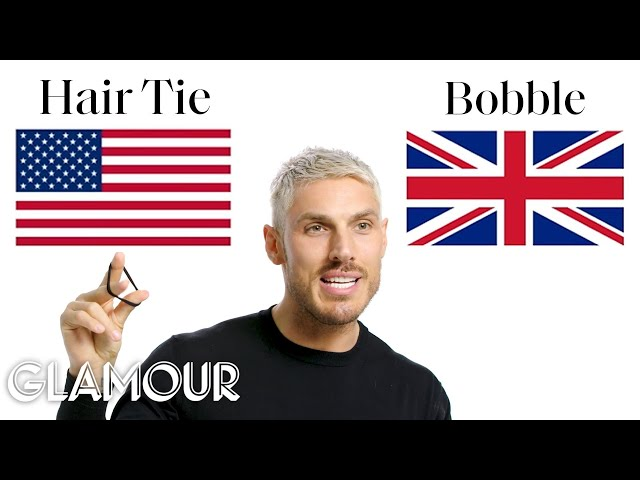 British vs. American Beauty Terms with Kim Kardashian's Hairstylist | Glamour