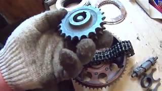 Комплектуем для сборки мотор Ю4