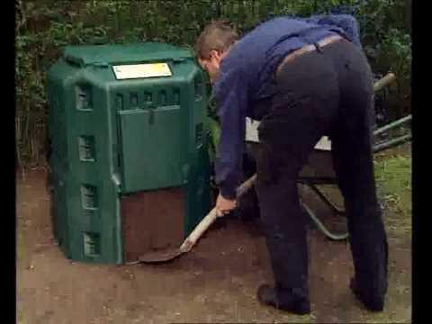 ניו הום ישראל התרמו קומפוסטר הראשון בארץ Thermo Komposter